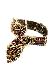 Shoptiques Product: Wire-Wrapped Snake Cuff