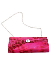 Shoptiques Product: Tie-Dye Silk Clutch