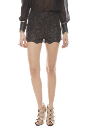 Shoptiques Product: Lace High-Waist Shorts