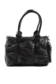Shoptiques Product: Croc-Detail Leather Handbag