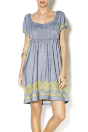Uncle Frank Knit Embroidered Dress - Product Mini Image