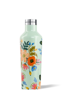 The Birds Nest 16OZ CANTEEN-GLOSS MINT LIVELY FLORAL - Alternate List Image