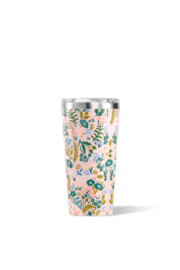 Corkcicle 16OZ TUMBLER-GLOSS PINK TAPESTRY - Front cropped