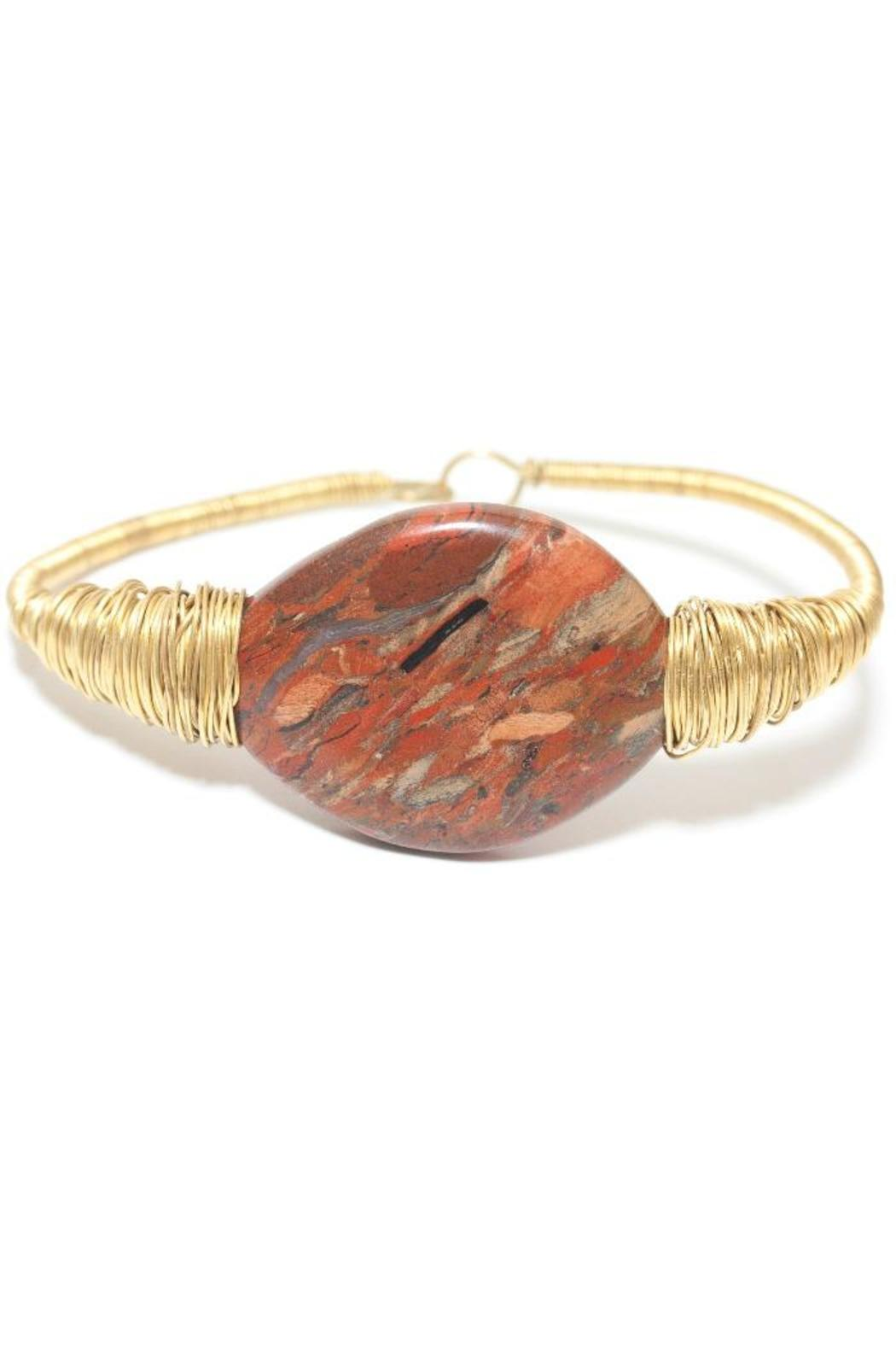 175941 Single Stone Bangle - Main Image