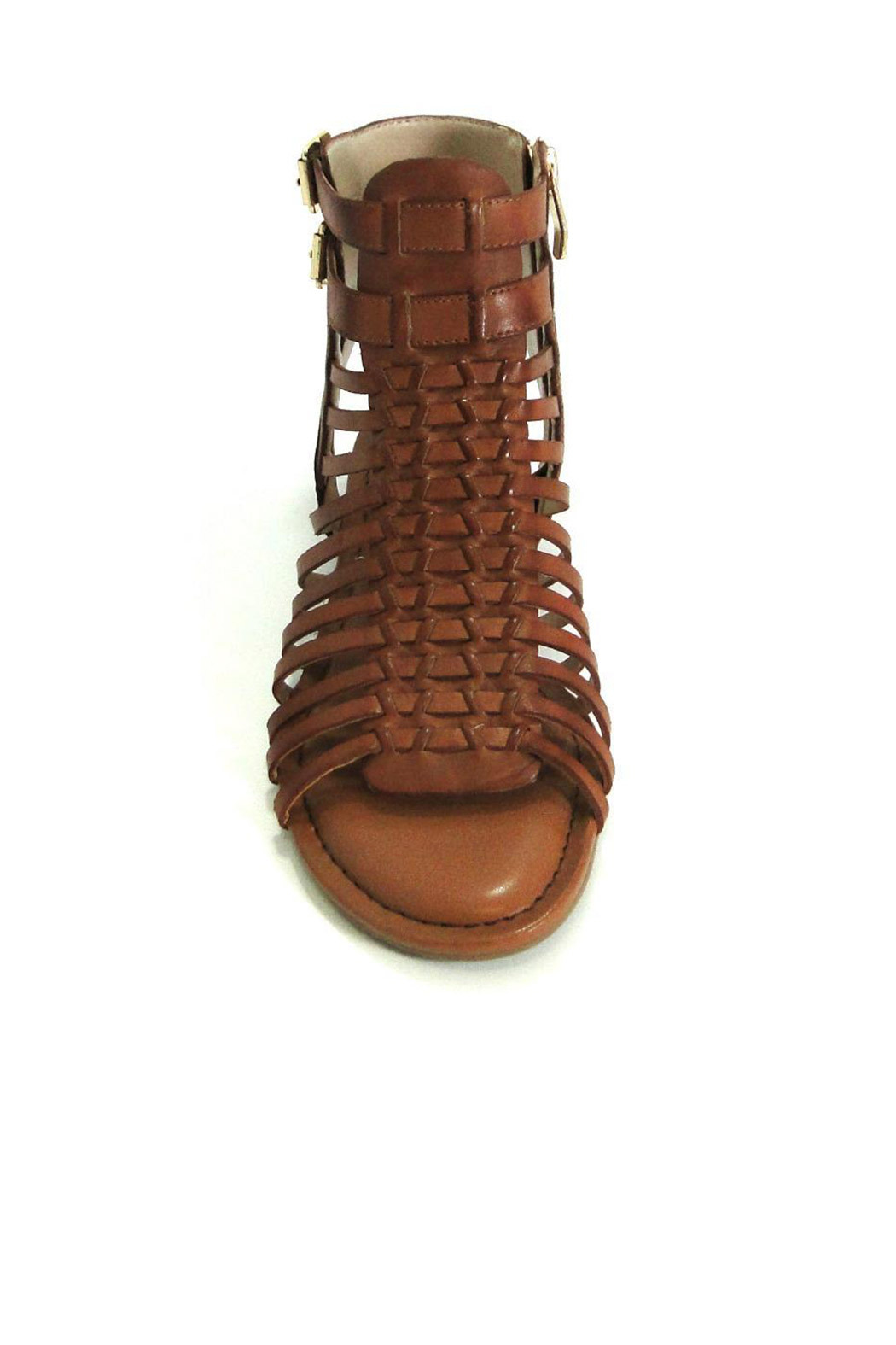 Vince Camuto Leather Gladiator Sandal - Front Cropped Image