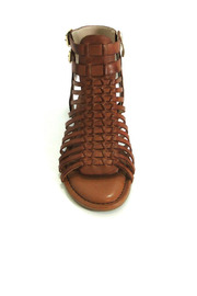 Vince Camuto Leather Gladiator Sandal - Front cropped