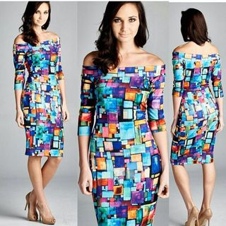 Shoptiques Geo Print Dress