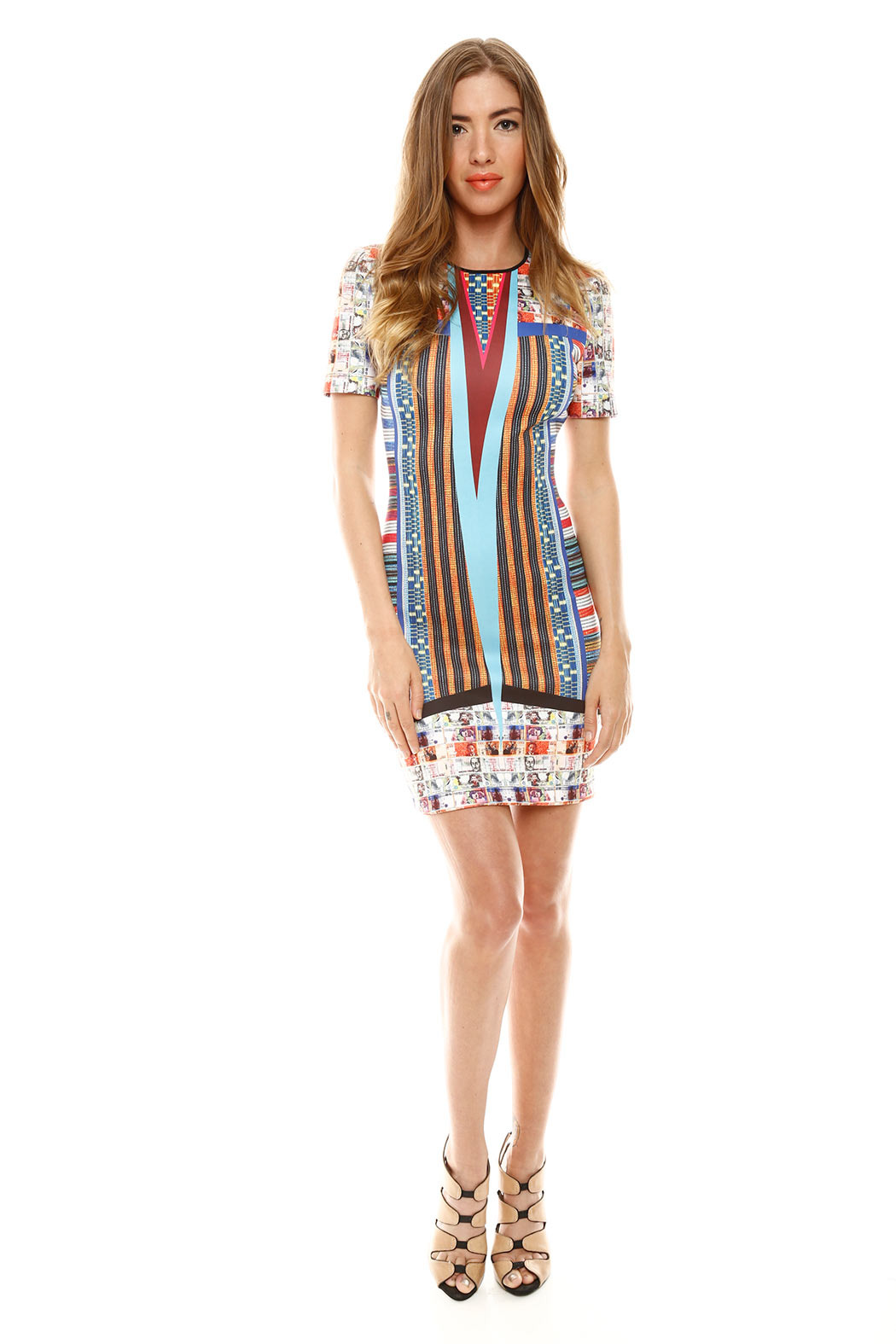 Clover Canyon Short Sleeve Pesos Dress From Burlington By Sweet Lady