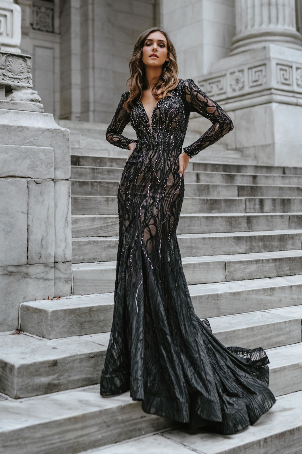 Mac Duggal Mermaid Gown - Main Image