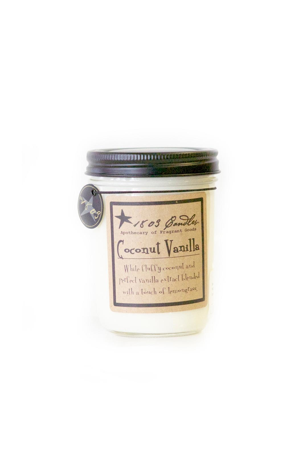 1803 Candles Coconut Vanilla Candle - Main Image