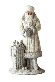 180 Degrees Glittered Santa Figure - Product Mini Image
