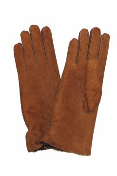Shoptiques Product: Shearling Leather Gloves