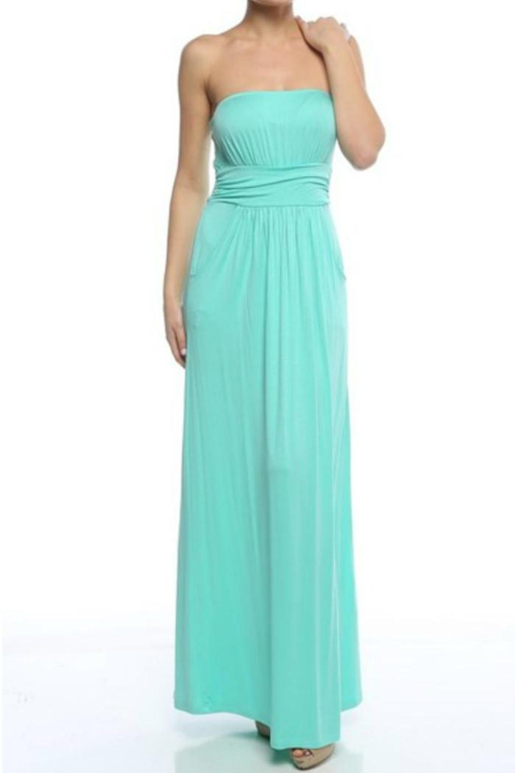Loila Strapless Maxi Dress from New York by Nouriche — Shoptiques