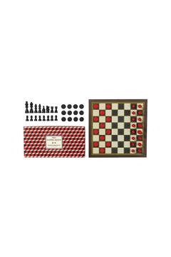 Wild & Wolf Chess & Checkers Set - Alternate List Image