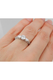 Margolin & Co 18K White Gold Engagement Ring Setting Mounting Diamond Bridal Jewelry 18K White Gold - Other