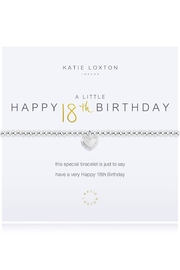 Katie Loxton 18th Birthday Bracelet - Product Mini Image