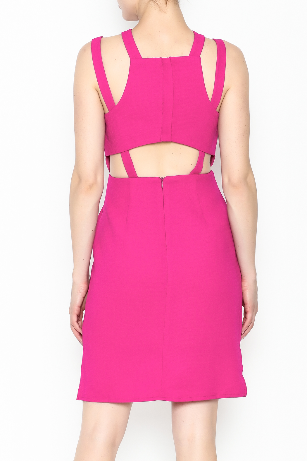 19 Cooper Open Back Dress - Back Cropped Image