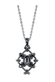 1928 Jewelry Starburst Pendant Necklace - Product Mini Image