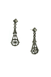 1928 Jewelry Stones Drop Earrings - Product Mini Image