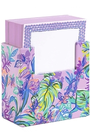 Lilly Pulitzer  193315 Noteblock in Stand - Product Mini Image