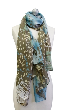 Cuccia Italia 1996 Printed Scarf - Alternate List Image