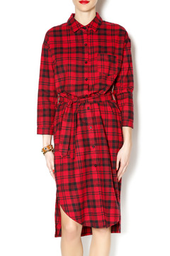 Shoptiques Product: 36 Plaid Dress