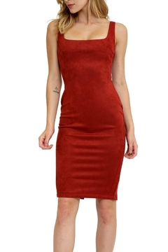1 Funky Faux Leather Dress - Product List Image