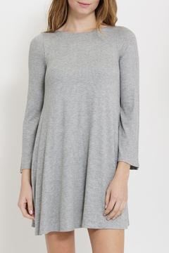 1 Funky Gray Swing Dress - Product List Image