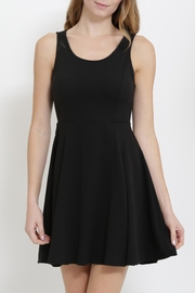 1 Funky Lace Up Skater Dress - Product Mini Image
