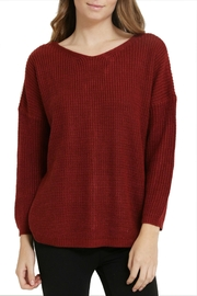 1 Funky Laceup Back Sweater - Front full body