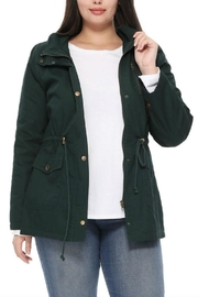 1 Funky Military Plussizejaket Furinside - Front cropped