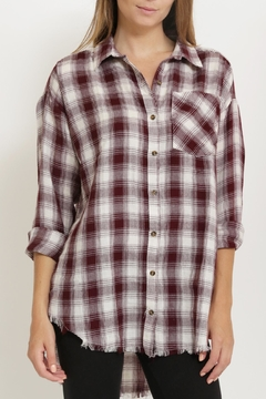 1 Funky Plaid Casual  Shirt - Product List Image