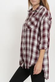 1 Funky Plaid Casual  Shirt - Side cropped