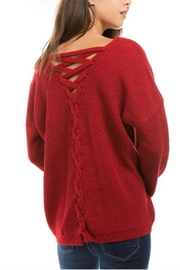 1 Funky Roundneck Frontback Lace - Front cropped