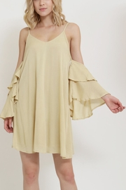 1 Funky Ruffle Sleeve Dress - Product Mini Image