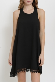 1 Funky Sleeveless Swing Dress - Front cropped