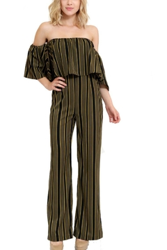 1 Funky Striped Jumpsuit - Product List Image