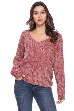 1 Funky Women V Neck Sweater - Product List Image