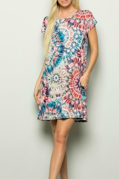 1 Style Fireworks t-Shirt Dress - Product List Image