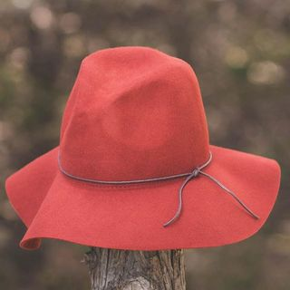 Shoptiques Product: Red Floppy Hat