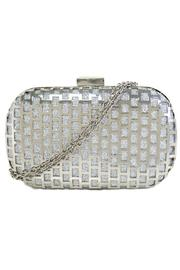 city designs Metal Covered Clutch - Product Mini Image