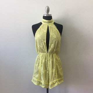 Shoptiques Product: Yellow Chic Romper