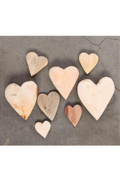 Shoptiques Product: Wood Heart - Small