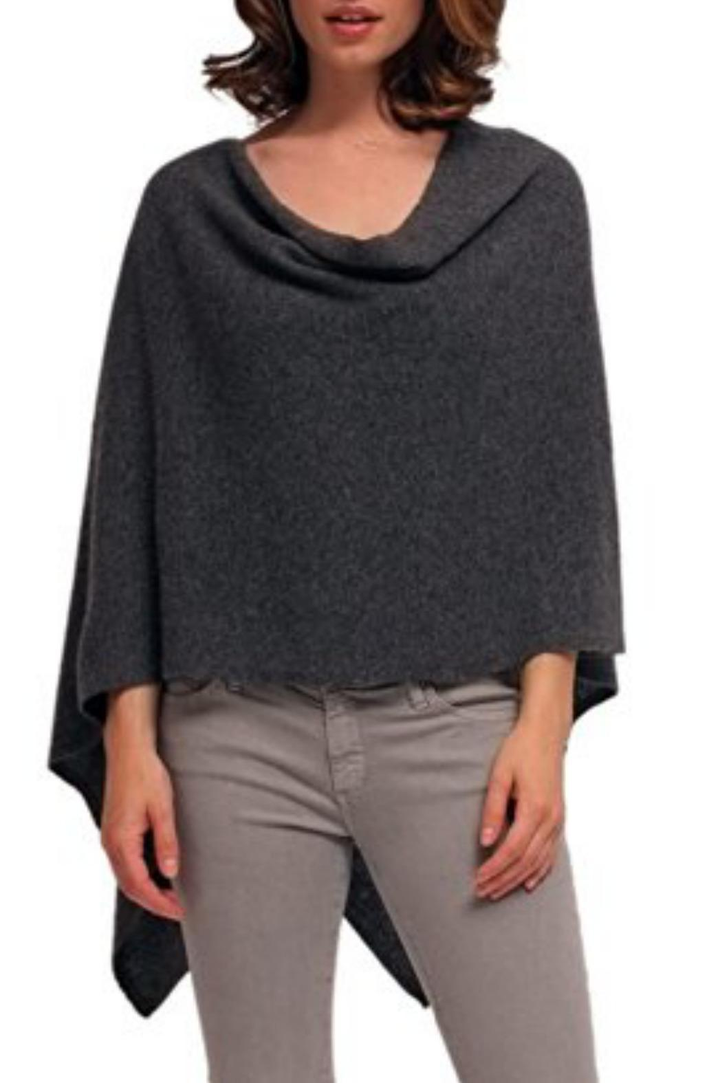 Alashan Cashmere  Cashmere Dress Topper - Front Cropped Image