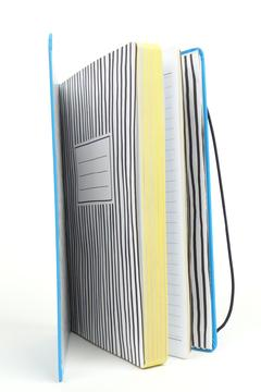 Happy Jackson  Hardcover Lined Notebook - Alternate List Image