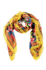Shoptiques Product: Bright Navajo Scarf