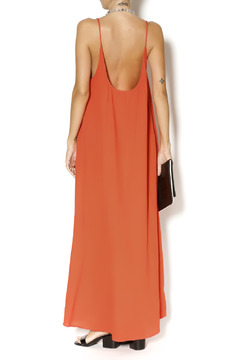 9Seed Coral Cotton Maxi Dress - Alternate List Image