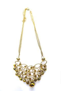 Creative Treasures Gold Chandelier Necklace - Alternate List Image