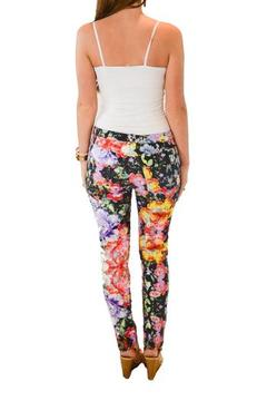 Ladakh Gypsy Floral Pants - Alternate List Image