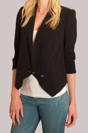 Cynthia Vincent Shawl Collar Blazer - Side cropped
